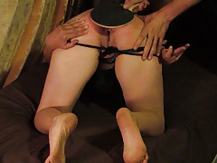 MILF wife spanked by..
