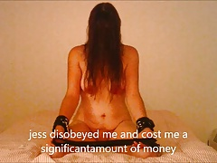 jess is punished with a very..