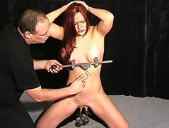 Extreme pussy torture and..
