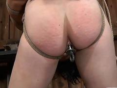 Tormented slave is giving..