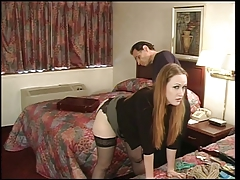 Julie Simone in nylons..