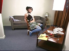 Sexy School Girl Chair Melee