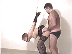 Swedish amateur couple plays..