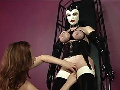 Erotic redhead teases slutty..