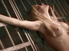 Gorgeous busty blonde gets..