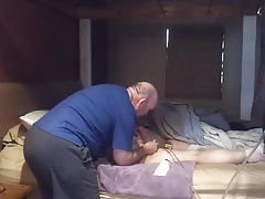 Naughty Girl Gets Strap And..