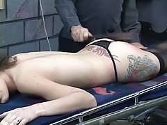 Duteous slut gets body bound..