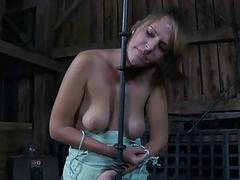 Angel gets hardcore clamping..