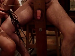 she whip my cock. Elle me..