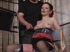 Submissive Caroline Pierces..