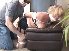 cleo housewife gagged bondage