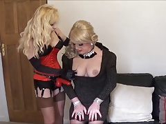 Slutty Angelique grilled by..