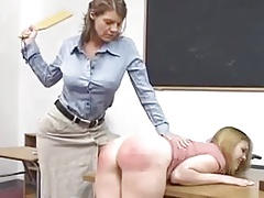 Paddled Firm by the Professor