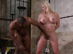 Interracial needle bdsm be..