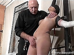 Tied Lexys sexual domination..