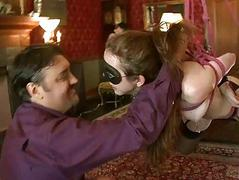 Hot luring babe dominated