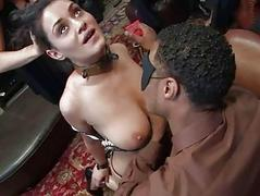 Busty prisoner used painless..