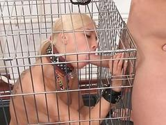 Horny blonde enjoys to anal..