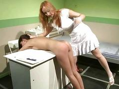Sexy doctor punishing her..