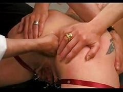 Extreme anal and pussy fisting