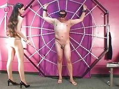 Pantyhose Tigress Punishes..