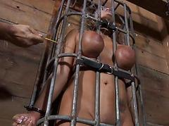 Loose torturing for sexy slave