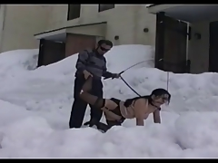 BDSM Snow Play