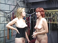 Two sexy, kinky mature babes..