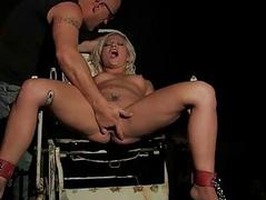 Intercourse slave gets anal..