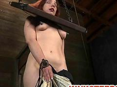 BDSM Slave Chained and..