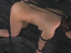 Anal Hooked Slave Mia..