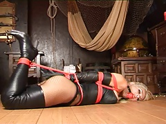 Petra Morgan Hogtied..