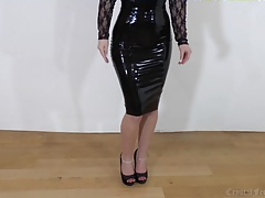 Back Latex, Legs and Heels,..