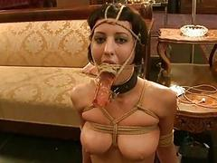 Hot pretty babe punished and..