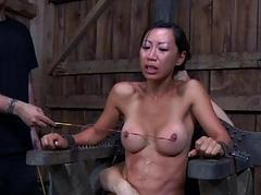 Titty torture for naughty..
