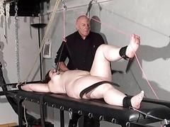 Chubby torture putting an..