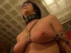 Huge tits submissive housewife
